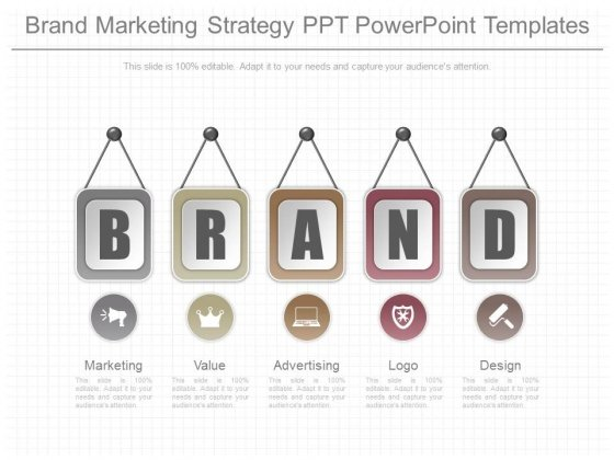 Brand Marketing Strategy Ppt Powerpoint Templates