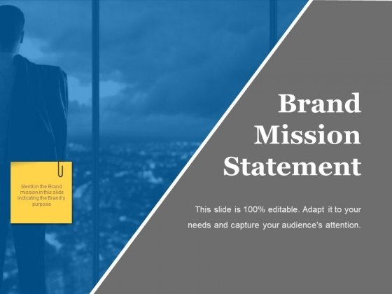 Brand Mission Statement Ppt PowerPoint Presentation Visual Aids Professional