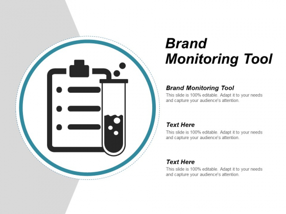Brand Monitoring Tool Ppt PowerPoint Presentation Model Graphic Tips Cpb