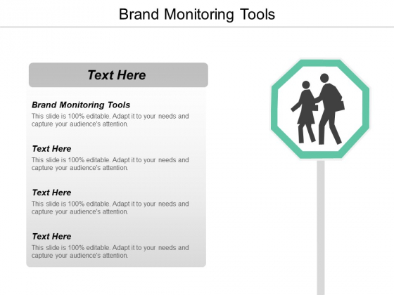 Brand Monitoring Tools Ppt Powerpoint Presentation Styles Design Ideas Cpb