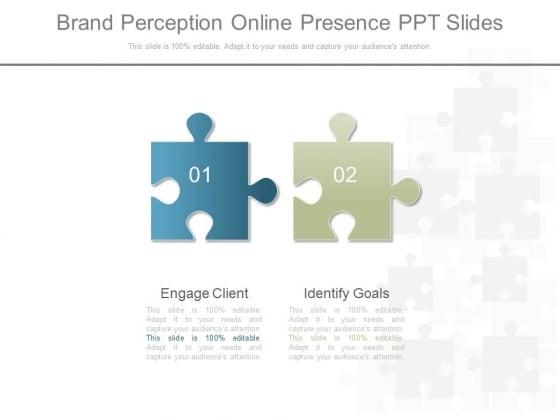 Brand Perception Online Presence Ppt Slides Show