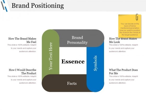 Brand Positioning Ppt PowerPoint Presentation Ideas Diagrams