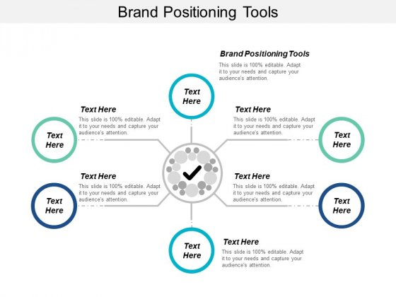 Brand Positioning Tools Ppt PowerPoint Presentation Deck Cpb