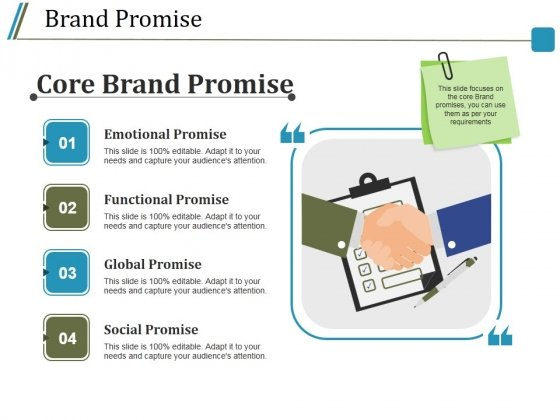 Brand Promise Ppt PowerPoint Presentation Outline Inspiration
