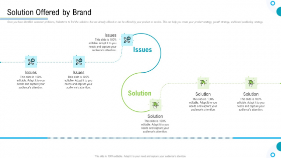 Brand Promotion And Management Plan Solution Offered By Brand Template PDF