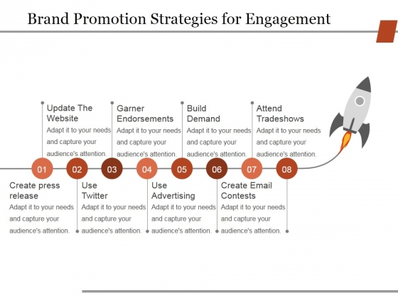 Brand Promotion Strategies For Engagement Ppt PowerPoint Presentation Icon Skills