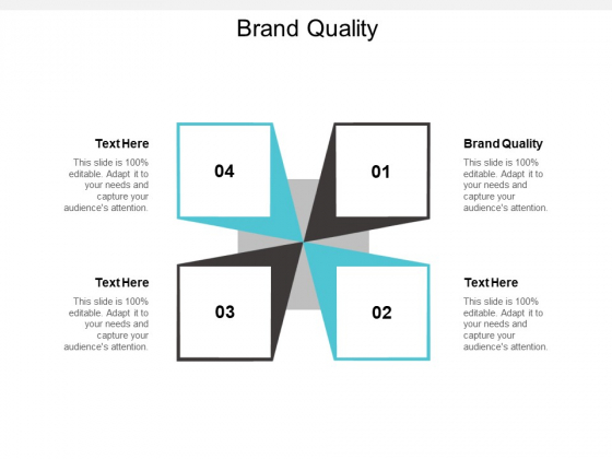 Brand Quality Ppt PowerPoint Presentation Layouts Files Cpb