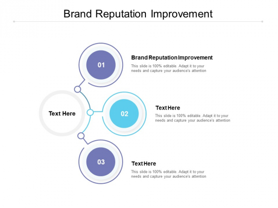 Brand Reputation Improvement Ppt PowerPoint Presentation Rules Cpb