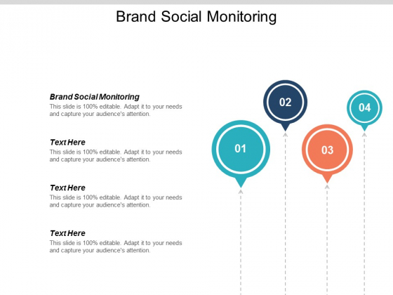 Brand Social Monitoring Ppt PowerPoint Presentation Outline Example Introduction Cpb