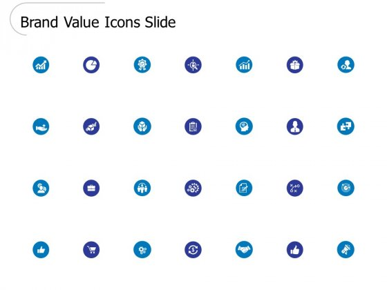 Brand Value Icons Slide Ppt PowerPoint Presentation Ideas Example Introduction