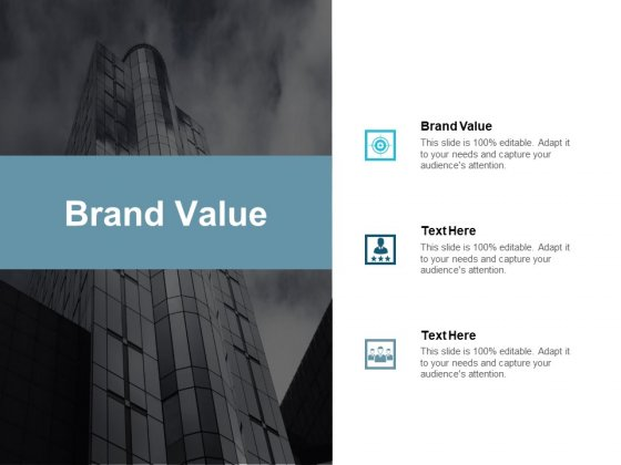 Brand Value Ppt PowerPoint Presentation Styles Visual Aids Cpb