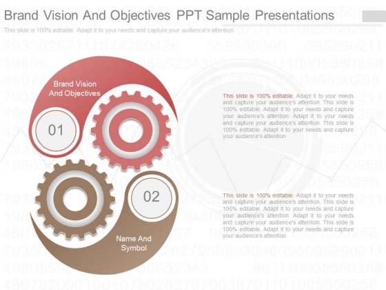 Brand Vision And Objectives Ppt Sample Presentations