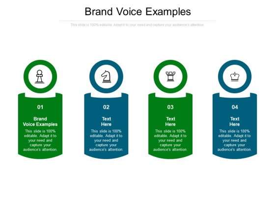Brand Voice Examples Ppt PowerPoint Presentation Layouts Graphics Example Cpb Pdf