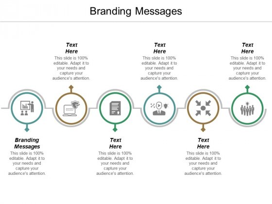 Branding Messages Ppt PowerPoint Presentation Visual Aids Deck