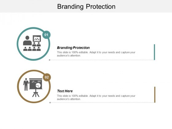 Branding Protection Ppt PowerPoint Presentation Slides Outfit Cpb