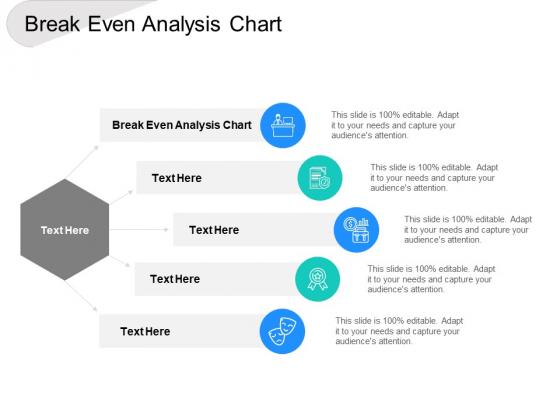 Break Even Analysis Chart Ppt PowerPoint Presentationmodel Brochure Cpb