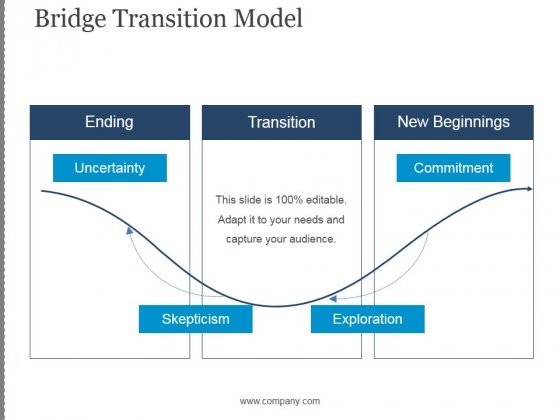 Bridge Transition Model Template 1 Ppt PowerPoint Presentation Ideas