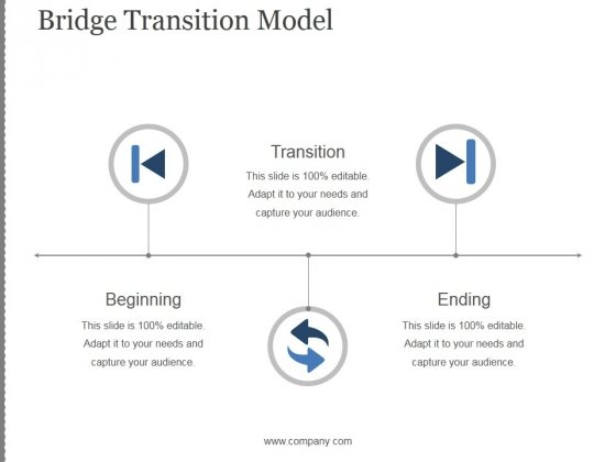 Bridge Transition Model Template 2 Ppt PowerPoint Presentation Show
