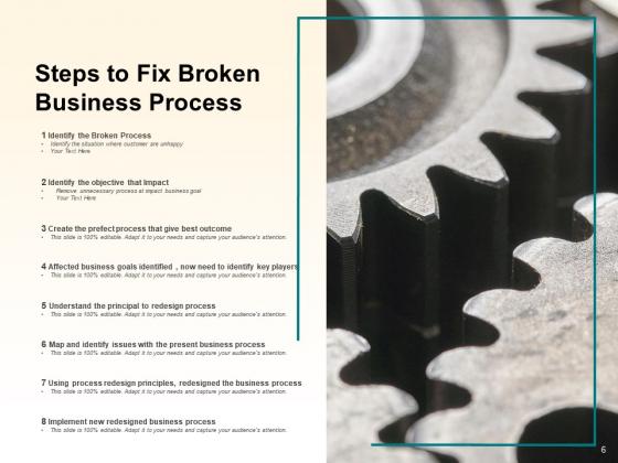 Broken_Business_Processes_Organization_Customer_Ppt_PowerPoint_Presentation_Complete_Deck_Slide_6