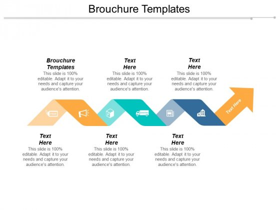 Brouchure Templates Ppt Powerpoint Presentation Visual Aids Slides Cpb