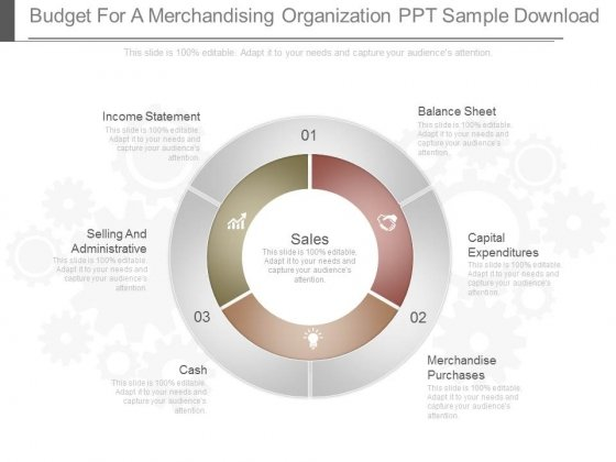 Budget For A Merchandising Organization Ppt Sample Download