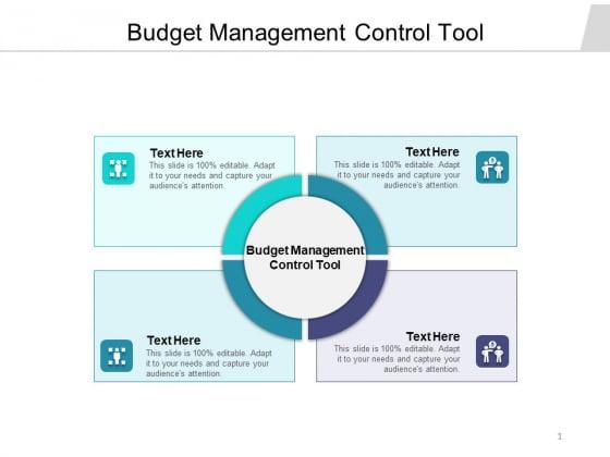 Budget Management Control Tool Ppt PowerPoint Presentation Portfolio Graphics Cpb Pdf