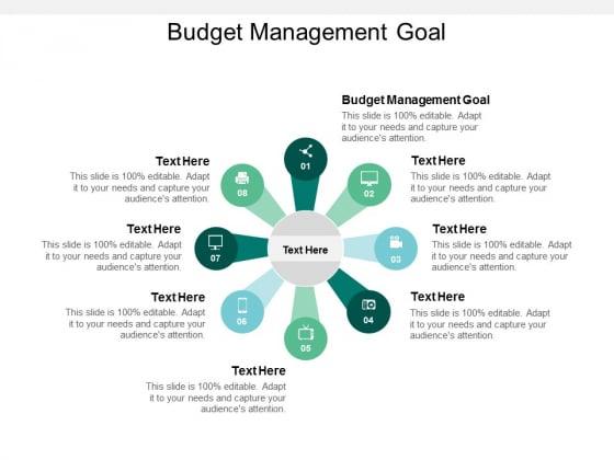 Budget_Management_Goal_Ppt_PowerPoint_Presentation_Summary_Design_Templates_Cpb_Slide_1