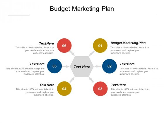 Budget Marketing Plan Ppt PowerPoint Presentation Summary Brochure Cpb Pdf