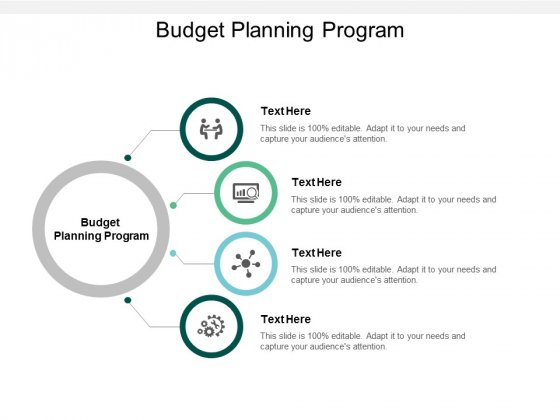 Budget Planning Program Ppt PowerPoint Presentation Slides Show Cpb