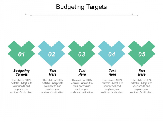 Budgeting Targets Ppt PowerPoint Presentation Slides Examples Cpb