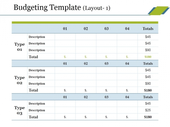 Budgeting Template 1 Ppt PowerPoint Presentation File Portrait