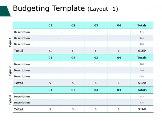 budget powerpoint templates slides and graphics