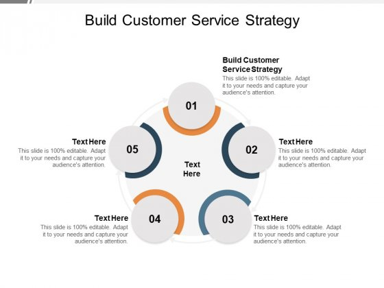 Build Customer Service Strategy Ppt PowerPoint Presentation Inspiration Examples Cpb Pdf