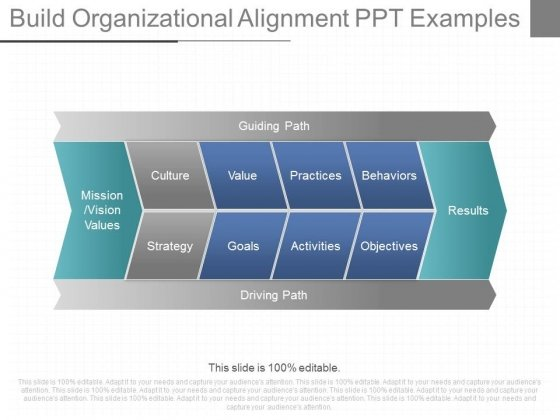 Build Organizational Alignment Ppt Examples