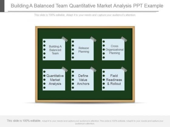 Building A Balanced Team Quantitative Market Analysis Ppt Example