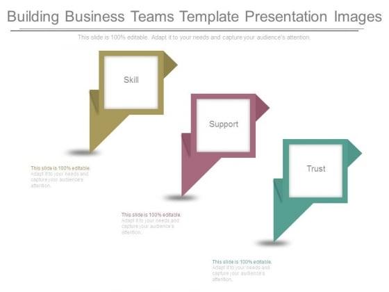 Building Business Teams Template Presentation Images