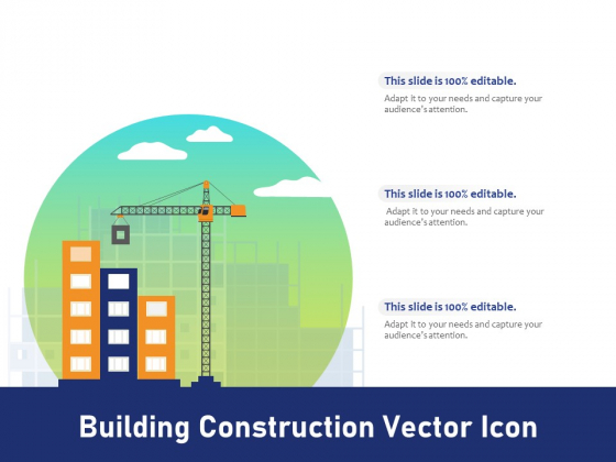 Building Construction Vector Icon Ppt PowerPoint Presentation Layouts Rules PDF
