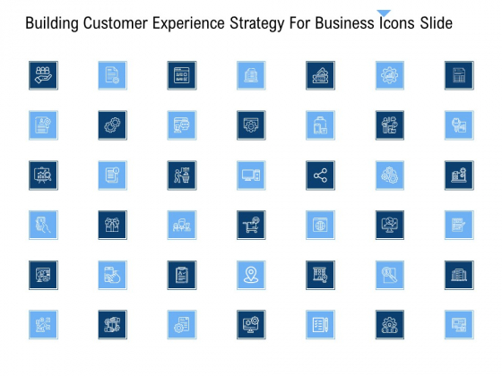 Building Customer Experience Strategy For Business Icons Slide Professional PDF
