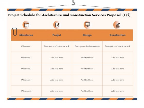 Building_Engineering_Services_Proposal_Project_Schedule_For_Architecture_And_Construction_Services_Proposal_Design_Professional_PDF_Slide_1