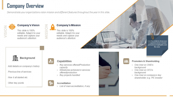 Building Innovation Capabilities And USP Detection Company Overview Ppt Slides Skills PDF