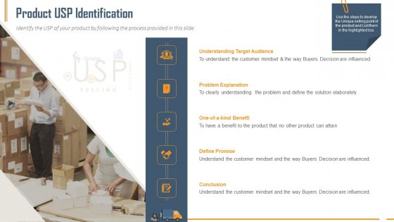 Building Innovation Capabilities And USP Detection Product USP Identification Ppt Infographics Tips PDF