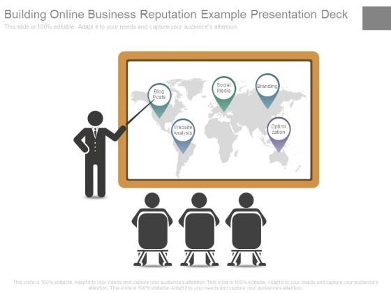 Building Online Business Reputation Example Presentation Deck