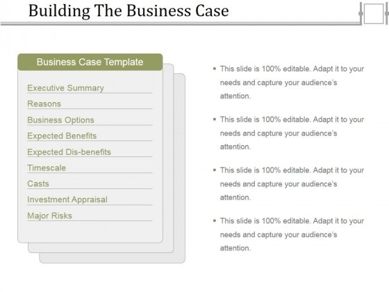 Building the business case ppt powerpoint presentation infographics building the business case ppt powerpoint presentation infographics format powerpoint templates fbccfo Gallery