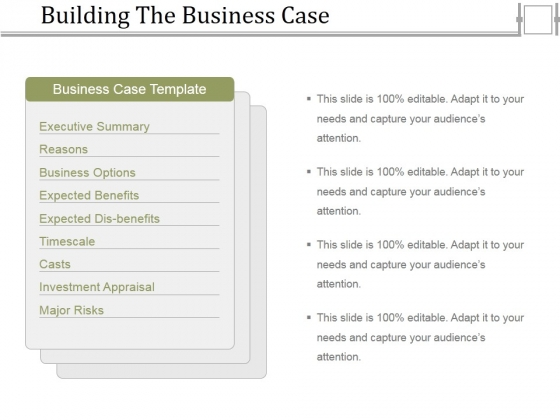 Building the business case ppt powerpoint presentation infographics building the business case ppt powerpoint presentation infographics format powerpoint templates flashek Choice Image