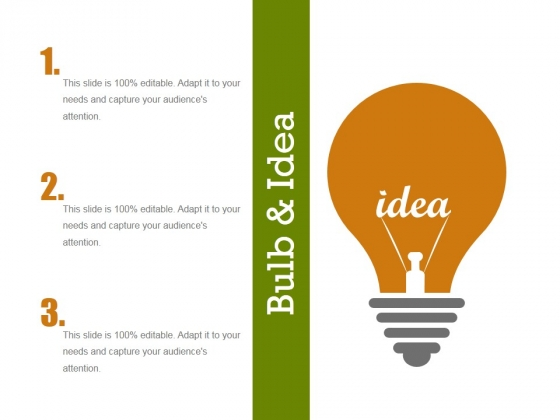 Bulb And Idea Ppt PowerPoint Presentation File Rules