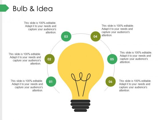 Bulb And Idea Ppt PowerPoint Presentation Inspiration Format Ideas