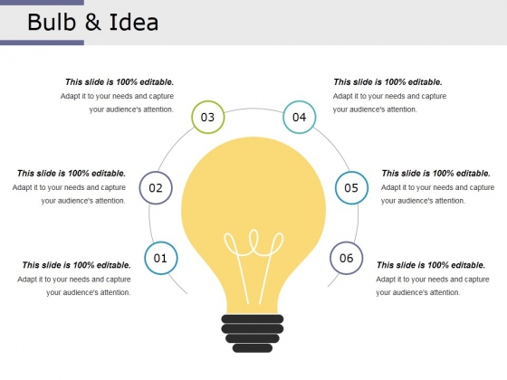 Bulb And Idea Ppt PowerPoint Presentation Layouts Show