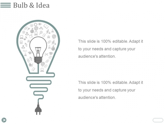 Bulb And Idea Ppt PowerPoint Presentation Styles Guide