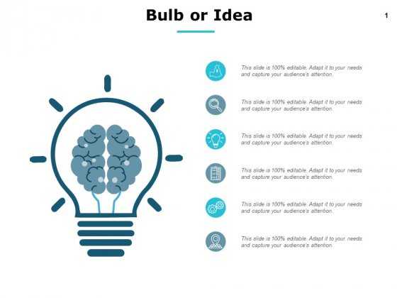 Bulb Or Idea Innovation Ppt PowerPoint Presentation File Brochure