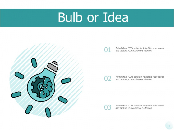 Bulb Or Idea Innovation Ppt PowerPoint Presentation File Slide